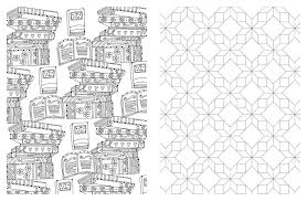 pattern and design best design coloring book full collection of