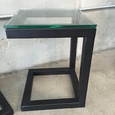 Metal Nightstands With Drawers Nightstand Enchanting Modern Black Nightstand Ceramic Table Lamp