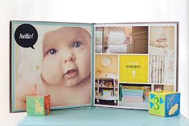 baby photo album heirloom baby album for newborn and baby photographers design