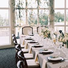 wedding tables and chairs how do we set the table for our formal wedding reception brides