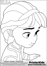 11 images baby elsa frozen coloring pages young elsa frozen