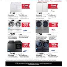 black friday appliance sale washer washer stackable washer and dryer reviews red lg washer