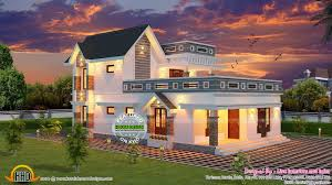 home plan com new generation home design house elevation indian sloping