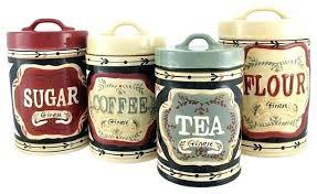 ceramic kitchen canister set kitchen canister sets ceramic futurethinkersdev