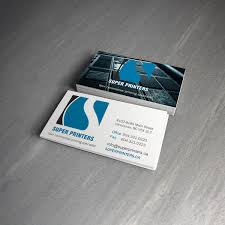 Vancouver Business Card Printing 12pt Business Card Super Printers Super Printers