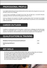 exles of effective resumes beautician cosmetology resume layout http topresume info