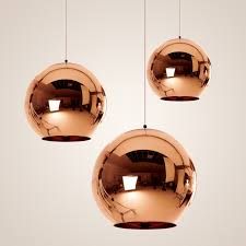 Classic Pendant Lights Modern Classic Fashion Gold Silver Pendant L Mirror Shade Glass