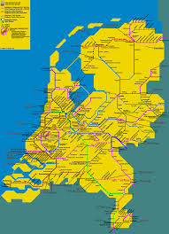 Europe Train Map by Detailed Train Map Of Netherlands Holland Netherlands Europe