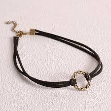 velvet ribbon necklace images 2018 9 models fashion simple velvet ribbon necklace bell lip sun jpg