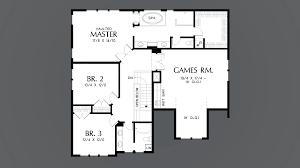 Jefferson Floor Plan by Mascord House Plan 22199a The Jefferson