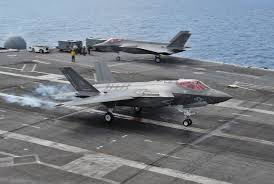 f 35c lightning ii jsf completes final round of carrier testing