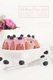 poppy seed bundt cake sprinkles for breakfast