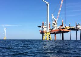 america u0027s first offshore wind farm is nearly ready bloomberg