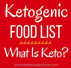 ketogenic food list what is allowed not allowed what is keto