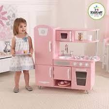 cuisine kidkraft vintage vintage wooden play kitchen pink kidkraft preschool play
