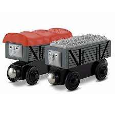 thomas the tank engine troublesome trucks vehicle 2 pack fisher