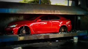 isf lexus jdm 2011 lexus isf crushed illegal street racing cars youtube