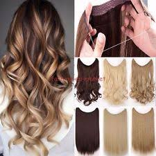 invisible line hair extensions wire hair piece ebay