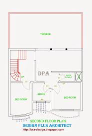 5 marla house plan 2d house plans