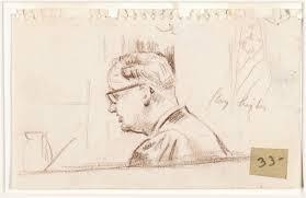 file oil pastels brown sketch of superior court judge harold m