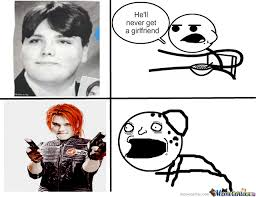 Gerard Way Memes - gerard way then and now by roni meme center