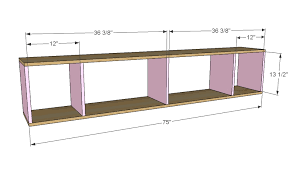 Free Plans To Build A Storage Bench by Ana White Hailey Storage Bed Twin Diy Projects