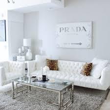 White And Grey Bedroom Ideas Gray White Living Room Decor White Tufted Sofa Prada Canvas