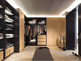 walk in closet design ideas white wooden shelvingl shaped light