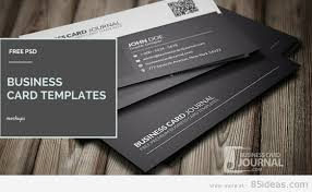 Photoshop Template Business Card 38 Free Psd Business Card Templates 2017 Edition 85ideas Com