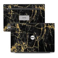 xps 13 black friday dell xps 13 laptop skin black gold marble by marble collection