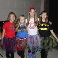 Halloween Costume Superhero Cute Homemade Superhero Costumes Girls Homemade Superhero
