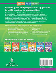 amazon com 180 days of math for sixth grade 180 days of practice