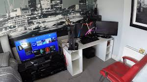 my epic gaming room tour setup youtube computer game room