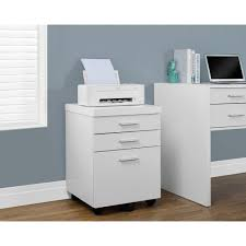 White Filing Cabinet 2 Drawer Monarch Specialties Hollow Core White File Cabinet I 7048 The