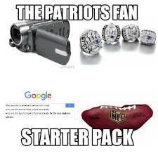 Patriots Fan Meme - meme maker the patriots fan starter pack