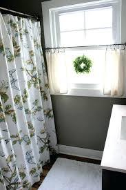 curtain ideas for bathroom windows amazing bathroom window treatments ideas inch sail cloth grommet