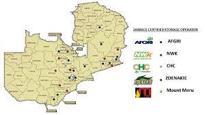 Zambia Map Nwk Zambia Zamace