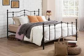 iron platform bed of also full beds metal headboards size frames