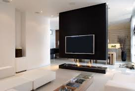 impressive fireplace living room modern decorating simple