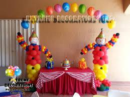 clown balloon party decorations miami frozen party decorations balloons