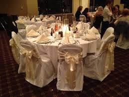 ivory chair covers white chair covers with ivory chair sashes for wedding northwest