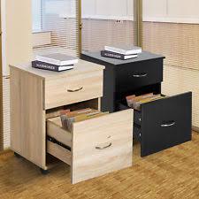 2 Drawer Wooden Filing Cabinet 2 Drawer Oak Filing Cabinet Ebay