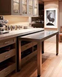 kitchen island pull out table this would be great to in a small kitchen with limited