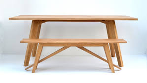 Oak Dining Table Bench Oak Dining Tables Oak Dining Table With Hollow Legs Cambourne 4