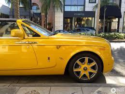 yellow rolls royce rolls royce phantom drophead coupé series ii 27 july 2016