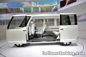 volkswagen minibus side view daihatsu dn u space concept at the 2017 tokyo motor show side view