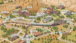 grand map lodging hotel options on the of grand