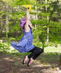 backyard zipline kit in outdoor activity toys nova natural image