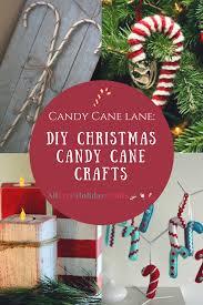 candy cane lane 28 diy christmas candy cane crafts candy cane