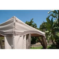 Portable Gazebo Walmart by Portable Patio Gazebo With Single Roof U0026 Netting 10 U0027 X 10